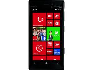 "Nokia Lumia 928 RM-860 4G LTE 32GB Verizon/Unlocked GSM Windows Phone 4.5"" Black 32GB 1GB RAM"