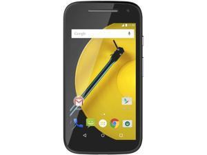 "Motorola MOTO E 2nd GEN XT1527 4G LTE GSM Android v5.1 Phone 4.5"" Black 8GB 1GB RAM"