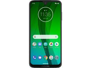 "Motorola Moto G7 4G LTE Unlocked Cell Phone 6.2"" White 64GB 4GB RAM"