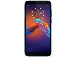 Motorola Moto E6 Play XT2029-1 32GB Unlocked GSM Dual SIM Phone w/ 13 MP Camera - Ocean Blue