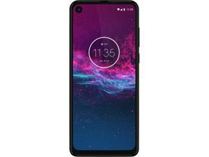 Motorola One Action - Unlocked Smartphone - Global Version - 128GB - Denim Blue (US Warranty)