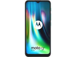"Motorola Moto G9 Play 4G LTE Unlocked Cell Phone 6.5"" Forest Green 64GB 4GB RAM"