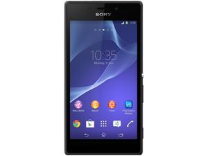 "Sony Xperia M2 D2305 Unlocked Cell Phone 4.8"" Black 8 GB, 1 GB RAM"