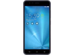 "Asus Zenfone 3 Zoom ZE553KL 4G LTE Unlocked Cell Phone 5.5"" Black 32GB 3GB RAM"