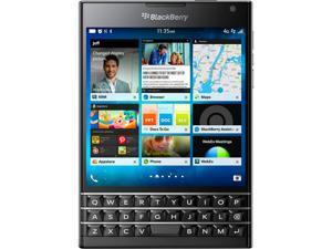 "BlackBerry Passport SQW100-1 4G LTE Unlocked GSM Phone 4.5"" Black 32GB 3GB RAM"