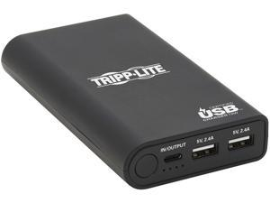 Tripp Lite Black 10050 mAh Portable Charger - 2 x USB-A, USB-C with PD Charging, Power Bank, Lithium-Ion, USB-IF UPB-10K0-2U1C