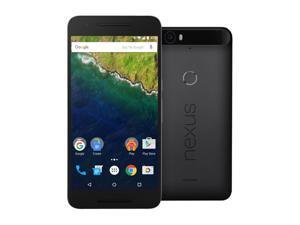 Nexus 6P 64GB Graphite LTE Unlocked Smartphone (US Warranty)