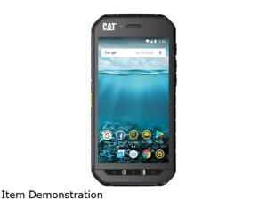 """CAT S41 5"""" 4G LTE Rugged Waterproof Smartphone with 5000mAh Battery and 32GB ROM  and 3GB RAM, CS41-SBB-NAM-UN"""