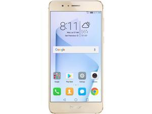 Huawei - Honor 8 Dual Camera Unlocked Smartphone 64GB Sunrise Gold - US Warranty