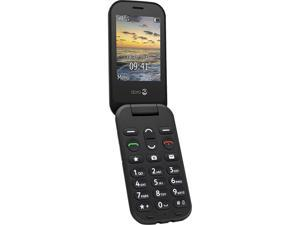 "Doro 6040 Cell Phone 2 MP Camera 2.8"" Black"