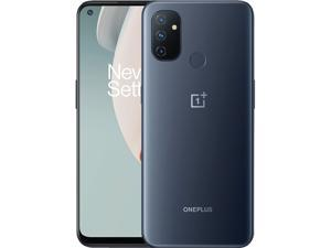 """ONEPLUS Nord N100 BE2013 4G LTE Unlocked Cell Phone 6.52"""" Midnight Frost 64GB 4GB RAM, GSM Dual Sim"""
