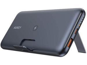 Aukey Basix Pro Black 10000 mAh Wireless Charging PowerBank PB-WL02