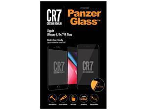 PanzerGlass CR7 BrandGlass Black Edge-to-Edge iPhone 6/6s/7/8 Plus Screen Protector 9016