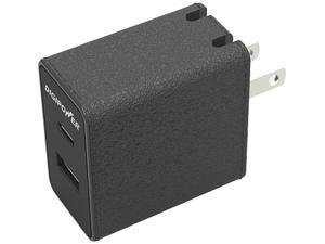 DigiPower CT-AC3 Black 2-Port USB A/C Wall Charger