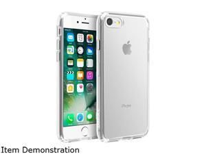 5ee11f642e9a BasAcc Clear Plain Crystal PC   TPU Rubber Case Cover Compatible With Apple  iPhone ...