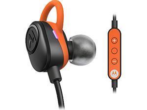 MOTOROLA SH011FL Black/Orange Verve Loop Wireless Stereo Earbuds