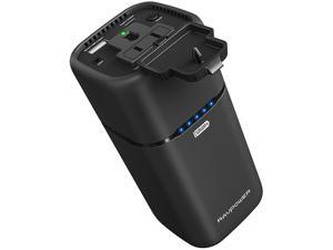 RAVPower 20100mAh Built-in AC Outlet Universal Power Bank Travel Charger- RP-PB054