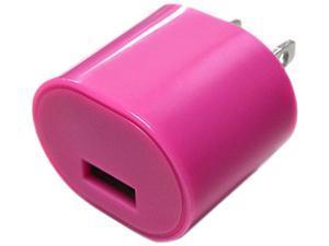 DigiPower - iEssentials - 1.0amp USB Wall Charger - Pink