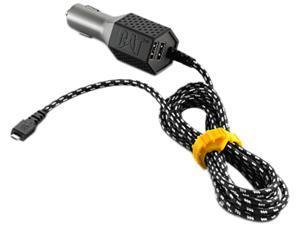 CAT CAT-CLA2-M Black 2 USB - Micro USB Vehicle Charger - 4.8A