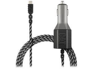 CAT CAT-CLA2-USBC Black 2 USB - Certified USB-C Vehicle Charger - 5.4A