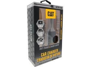 CAT CAT-CLA-M Black 1 USB - Micro USB Vehicle Charger - 4.8A