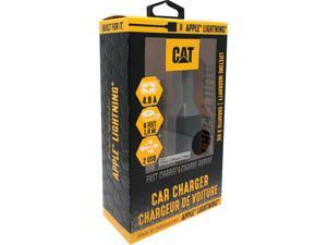 CAT CAT-CLA-ACL Black 1 USB - Certified Apple Lightning Vehicle Charger - 4.8A