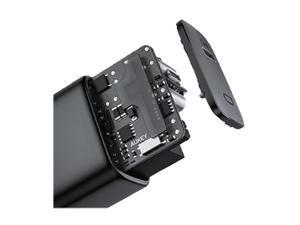 Aukey PA-F1 Black Single USB-C PD 18W Charger