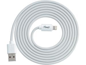 Rosewill RCCC-16001 Lightning Cable, White, 6 ft. MFi Certified