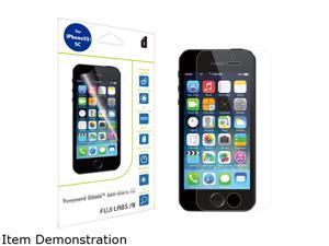 Fuji Labs Vanguard Shield Anti-Glare HD - High Quality Transparent Screen Protector designed for iPhone SE / 5 / 5s / 5c