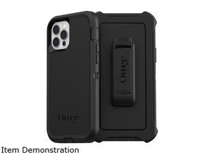 OtterBox Defender Series Black Case for iPhone 12 and iPhone 12 Pro 77-65401