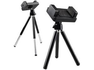 Insten Black Universal Phone Holder Tripod 1412526