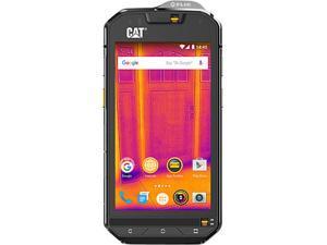 "CAT S60 Unlocked Smartphone 4G LTE Single SIM with Dual Camera (4.7"" Black, 32GB Storage 3GB RAM)"