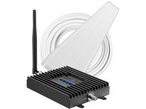 SureCall Fusion4Home 3.0 Yagi Whip Voice, Text & 4G LTE Cell Phone Signal Booster for Homes up to 3,000 sq ft SC-POLYH3-72YRACA
