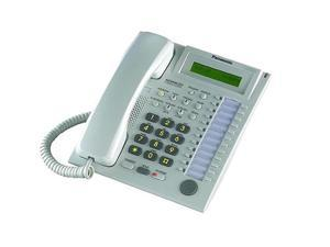 Speakerphone W/ LCD WHITE