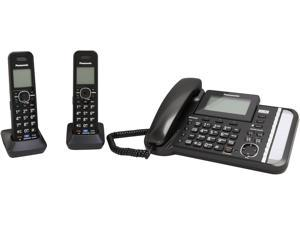 Panasonic KX-TG9582 2-line Operation Corded Phone Integrated Answering Machine