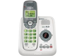 Vtech VTCS6124 1.9 GHz Digital DECT 6.0 1X Handsets Cordless Phones with Answering System