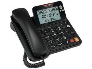 AT&T CL2940 Corded Speakerphone with Display - BLACK