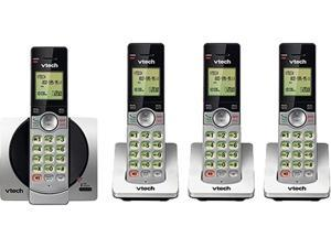 Vtech CS6919-4 DECT 6.0 4X Handsets DECT 6.0 Cordless Phone with 4 Full Duplex Handsets