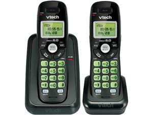 Vtech CS6114-21BK DECT 6.0 2X Handsets 2-Handset DECT 6.0 Cordless Phone