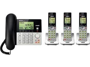 CS6949-3 DECT 6.0 3X Handsets 3-Handset DECT 6.0 Cordless Phone with Answering System and Caller ID Integrated Answering Machine