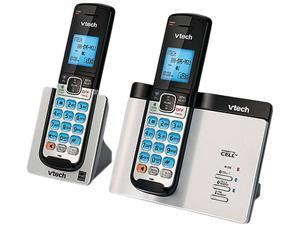 Vtech DS6611-2 DECT 6.0 2X Handsets 2-Handset Bluetooth Cordless Phone with Mobile Notifications