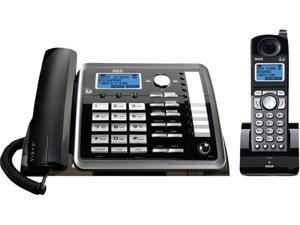 RCA ML25255 DECT 6.0 Two-Line Corded/Cordless Phone System with Answering System