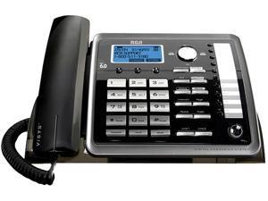 RCA ML25260 2-line Operation Two-line Corded Wireless Speakerphone