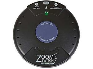 ZoomSwitch ZMS10-C Headset Adapter for Phone and PC