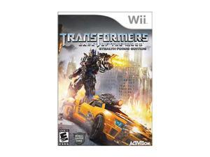 Transformers: Dark of the Moon Wii Game