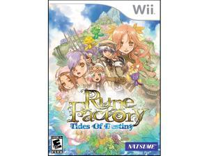 Rune Factory: Tides of Destiny Wii Game