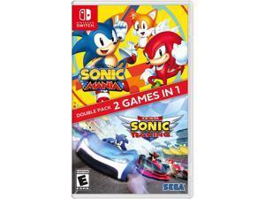 Sonic Mania + Team Sonic Racing Double Pack - Nintendo Switch - Nintendo Switch