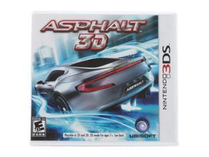 Asphalt 3D Nintendo 3DS Game