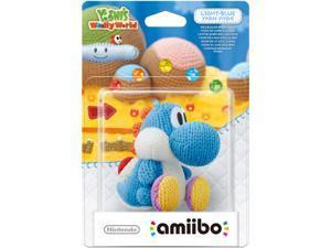 Nintendo Light Blue Yarn Yoshi - Amiibo
