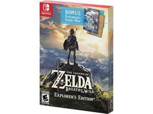 The Legend of Zelda: Breath of the Wild - Explorer's Edition - Nintendo Switch